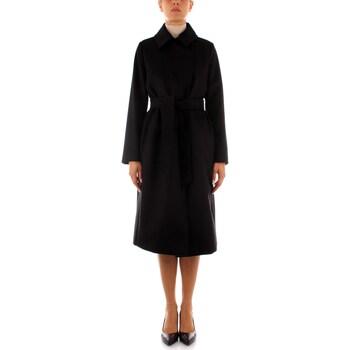Textil Ženy Kabáty Maxmara Studio BCOLLAG Černá
