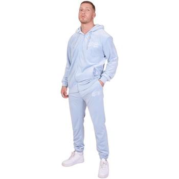 Textil Muži Teplákové soupravy Project X Paris Jogging Velvet Logo bleu ciel