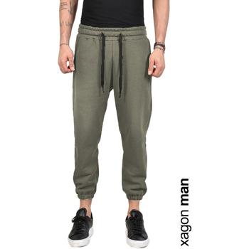 Textil Muži Kalhoty Xagon Man  Zelená