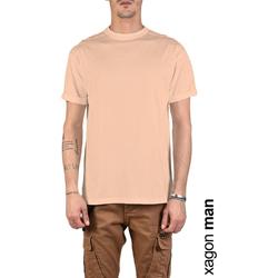 Textil Muži Trička s krátkým rukávem Xagon Man  Růžová