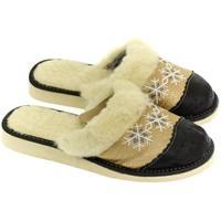 Boty Ženy Papuče John-C Dámske zlaté papuče NATAŠA zlatá