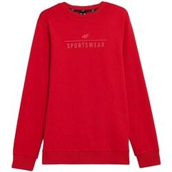 Textil Muži Mikiny 4F BLM350 Červené