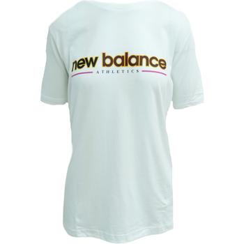 Textil Tílka / Trička bez rukávů  New Balance Athletics Higher Learning Bílý