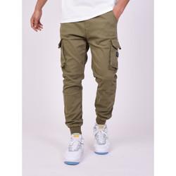 Textil Muži Cargo trousers  Project X Paris Jeans Style Cargo Projet X Paris khaki