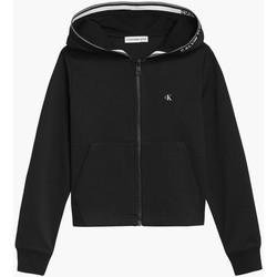 Textil Dívčí Mikiny Calvin Klein Jeans IG0IG01010 Černá