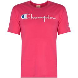 Textil Muži Trička s krátkým rukávem Champion  Růžová