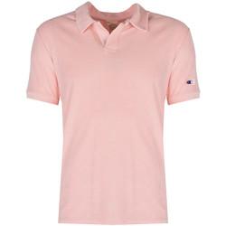 Textil Muži Polo s krátkými rukávy Champion  Růžová