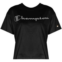 Textil Ženy Trička s krátkým rukávem Champion  Černá