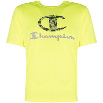 Textil Muži Trička s krátkým rukávem Champion  Žlutá