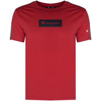 Textil Muži Trička s krátkým rukávem Champion  Červená