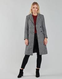 Textil Ženy Kabáty Betty London PIXIE Černá / Šedá