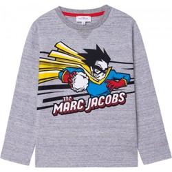 Textil Chlapecké Trička s dlouhými rukávy Marc Jacobs W25517 Šedá