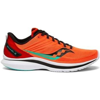 Boty Muži Šněrovací polobotky  & Šněrovací společenská obuv Saucony Kinvara 12 Oranžové