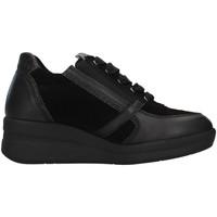 Boty Ženy Kotníkové tenisky Melluso R25623A Černá