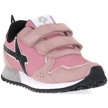 Boty Dívčí Módní tenisky W6yz 0M03 JET VL J GLITTER ROSE Rosa