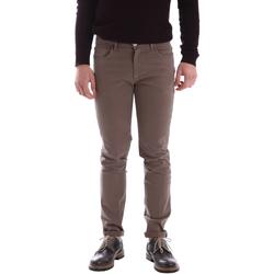 Textil Muži Kalhoty Sei3sei 02396 Hnědý