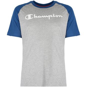 Textil Muži Trička s krátkým rukávem Champion  Modrá