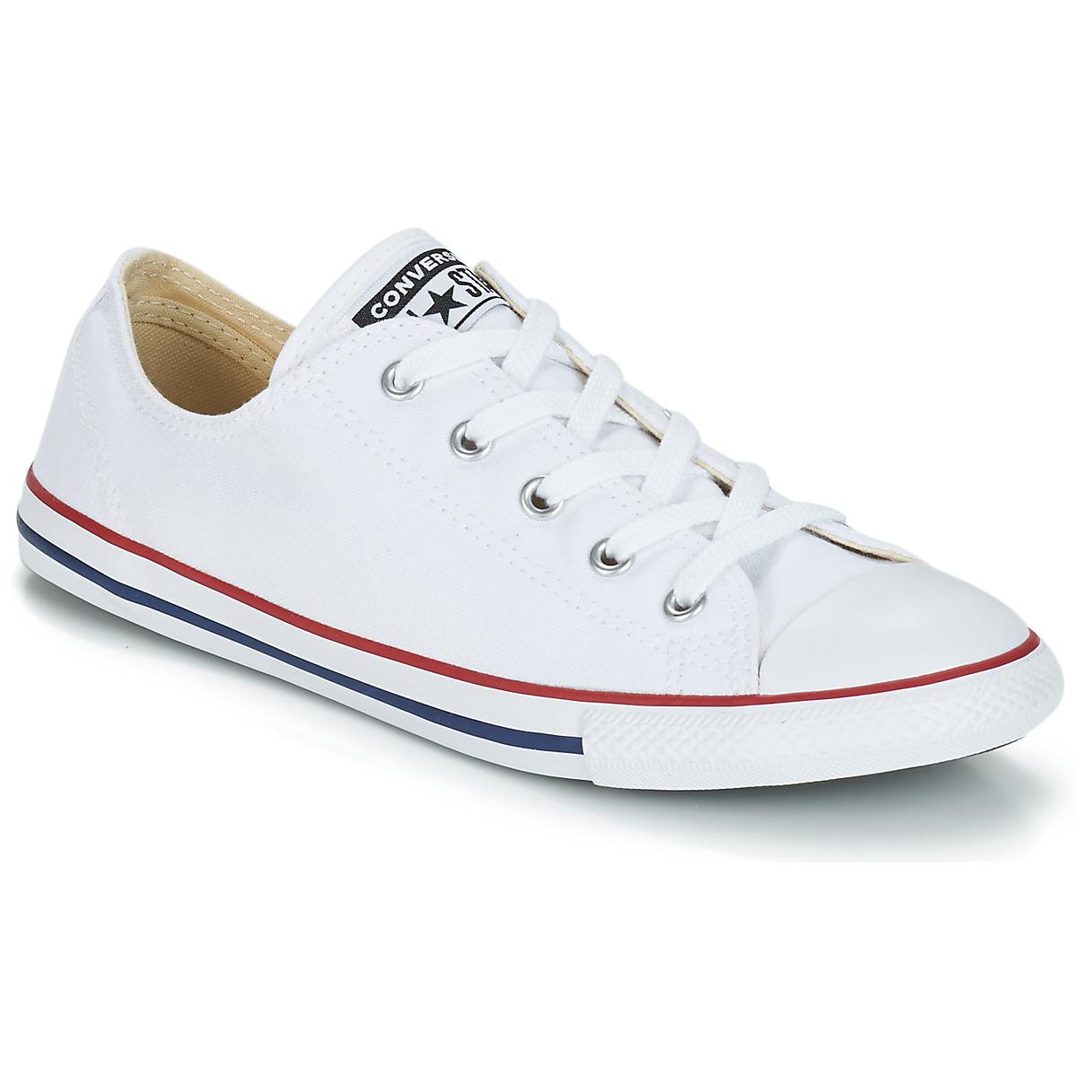 Nizke tenisky Converse ALL STAR DAINTY OX Bílá / Červená
