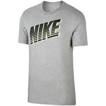 Textil Muži Trička s krátkým rukávem Nike Sportswear Tee Block Šedé