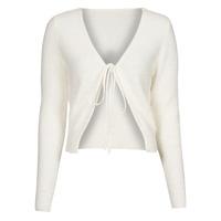 Textil Ženy Svetry / Svetry se zapínáním Yurban  Bílá