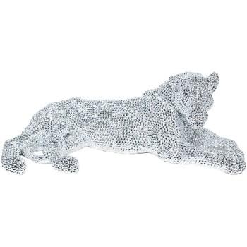 Bydlení Sošky a figurky Signes Grimalt Leopard Obrázek Plateado