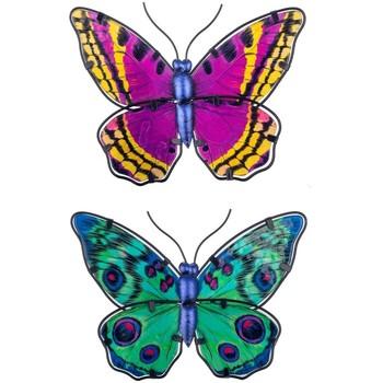 Bydlení Sošky a figurky Signes Grimalt Obrázek Motýli 2 Jednotky Multicolor