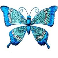 Bydlení Sošky a figurky Signes Grimalt Obrázek Motýl Azul