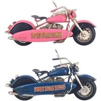 Bydlení Sošky a figurky Signes Grimalt Motocykl Set 2 U Multicolor