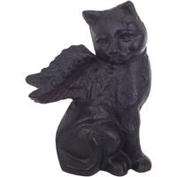 Bydlení Sošky a figurky Signes Grimalt Gato S Křídly Negro