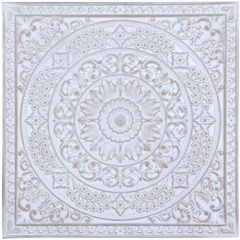 Bydlení Obrazy, plátna Signes Grimalt Zdi Ornament Blanco