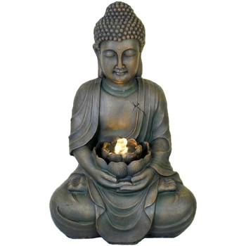 Bydlení Sošky a figurky Signes Grimalt Fontána Buddha Led. Gris
