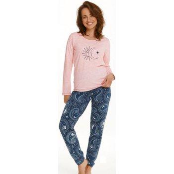 Textil Ženy Pyžamo / Noční košile Taro Dámské pyžamo 2563 Gaja pink