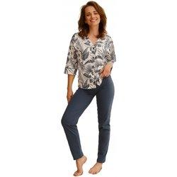 Textil Ženy Pyžamo / Noční košile Taro Dámské pyžamo 2561 Megan