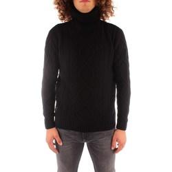 Textil Muži Svetry Blauer 21WBLUM04142006088 Černá
