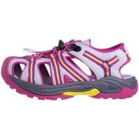 Boty Děti Sandály Cmp Aquarii Hiking Bílé, Růžové