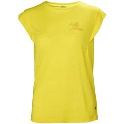 Textil Ženy Trička s krátkým rukávem Helly Hansen Siren Spring Žluté