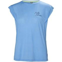 Textil Ženy Trička s krátkým rukávem Helly Hansen Siren Spring Modré