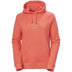Textil Ženy Mikiny Helly Hansen F2F Cotton Hoodie Červené