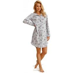 Textil Ženy Pyžamo / Noční košile Taro Noční košile  2583 Celine grey