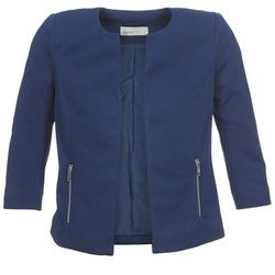 Textil Ženy Saka / Blejzry Vero Moda JANNI Tmavě modrá