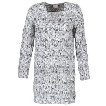 Textil Ženy Krátké šaty Vero Moda COOLI Černá / Bílá
