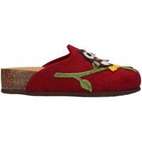 Boty Ženy Papuče Bionatura 12GUFO-I-FELB503 Červená