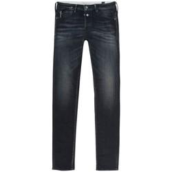Textil Muži Rifle slim Le Temps des Cerises Pantalon Jeans slim  Gawler 700/11 bleu/noir