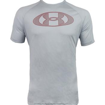 Textil Muži Trička s krátkým rukávem Under Armour Tech 2.0 Lockertag Short Sleeve Šedá
