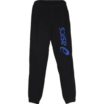 Textil Chlapecké Teplákové kalhoty Asics Big Logo Sweat Jr Pant Černá