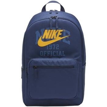 Taška Chlapecké Batohy Nike NK Heritage Backpack Modrá