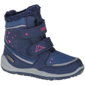 Boty Dívčí Kotníkové boty Kappa Cui Tex K Modrá
