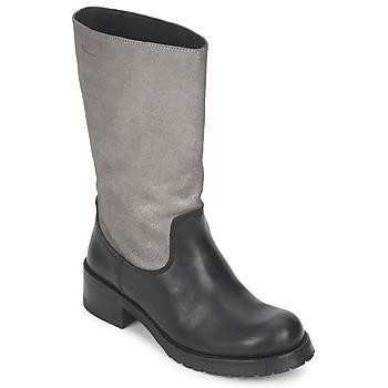 Boty Ženy Kozačky Pastelle PETULA Stříbrná-černá
