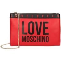 Taška Ženy Kabelky s dlouhým popruhem Love Moschino JC4185PP1DLI0500 Červené
