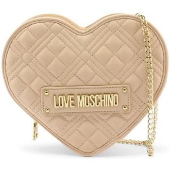 Taška Ženy Kabelky s dlouhým popruhem Love Moschino JC4132PP1DLA0107 Béžové